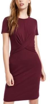 Ultra Flirt Juniors' Twist-Front T-Shirt Dress