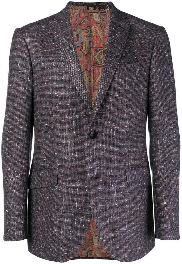 Etro speckled blazer