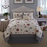Nostalgia HomeTM Giselle Twin Quilt in Red/Grey
