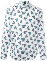 Kenzo Bermudas Triange slim-fit shirt - men - Cotton - 39