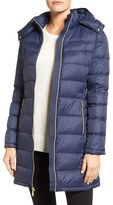 MICHAEL Michael Kors Women's Packable Quilted Down Coat