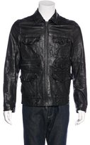 AllSaints Forge Leather Jacket