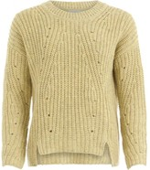 Coster Copenhagen - Knit in recycled polyester - polyester | light yellow | medium - Light yellow