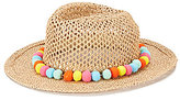 August Hats Gypsy Delight Pom Pom Fedora