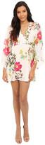Brigitte Bailey Cora Kimono Dress with Tie-Waist