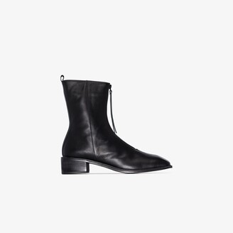 Osoi black Derrick 40 leather ankle boots