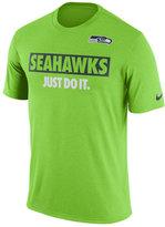 Nike Men's Seattle Seahawks Just Do It T-Shirt
