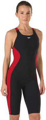Speedo Women's Youth Powerplus Kneeskin Swimsuit