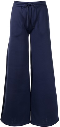 Cynthia Rowley Wide-Leg Drawstring Trousers
