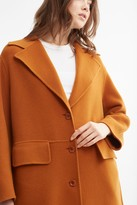 Thumbnail for your product : Proenza Schouler White Label Double Face Coat With Side Slits