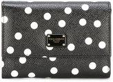 Dolce & Gabbana polka dot print wallet - women - Calf Leather - One Size