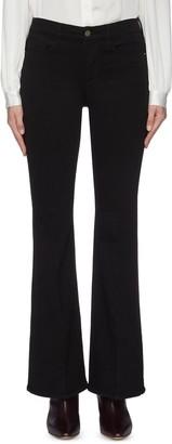 Frame 'Le Pixie High Flare' jeans