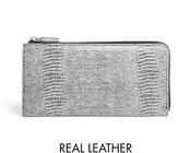 Asos Leather Zip Around Wallet with Pop Interior