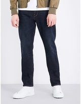 Ps By Paul Smith Tapered Mid-rise Stretch-cotton Jeans
