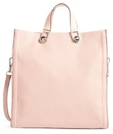Louise et Cie Alise Leather Tote - Pink