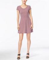 MICHAEL Michael Kors Esher Printed Fit & Flare Dress