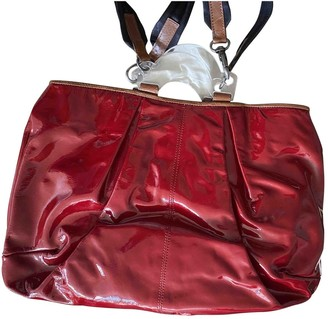 Marni Red Patent leather Handbags