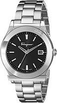 Salvatore Ferragamo Men's FF3940014 1898 Analog Display Quartz Silver Watch