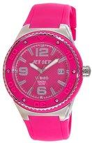 Jet Set – J53454-868 Wb30 Ladies Watch – Analogue Quartz – Pink Dial – Rubber Bracelet In Pink