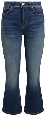 Le Jean Bella Cropped Flare Jeans