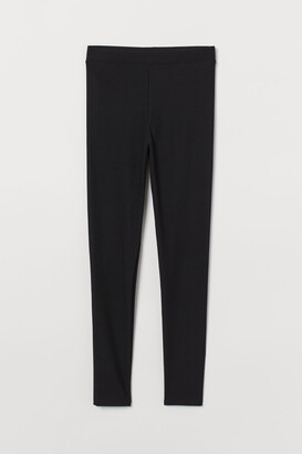 H&M Leggings High waist - Black