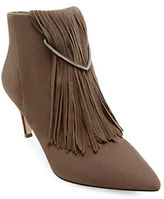 Brian Atwood Perri Fringed Ankle Boots