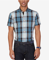 Nautica Men's True Plaid Short-Sleeve Shirt