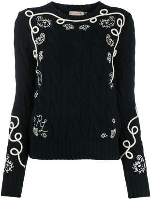 Polo Ralph Lauren Embroidered Knit Jumper