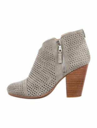 Rag & Bone Margot Boot Suede Boots Grey