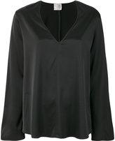 Forte Forte v-neck blouse - women - Spandex/Elastane/Viscose - 1
