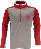 Outerstuff Oklahoma Sooners Matrix Quarter-Zip Pullover, Big Boys (8-20)