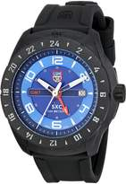 Luminox Men's 5023 SXC PC Carbon GMT Analog Display Quartz Black Watch