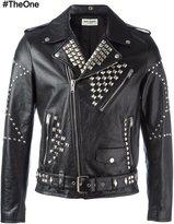 Saint Laurent classic studded motorcycle jacket