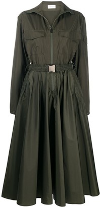 Moncler Belted Mid-Length Dress