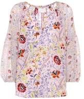 Velvet Kandee floral-printed top