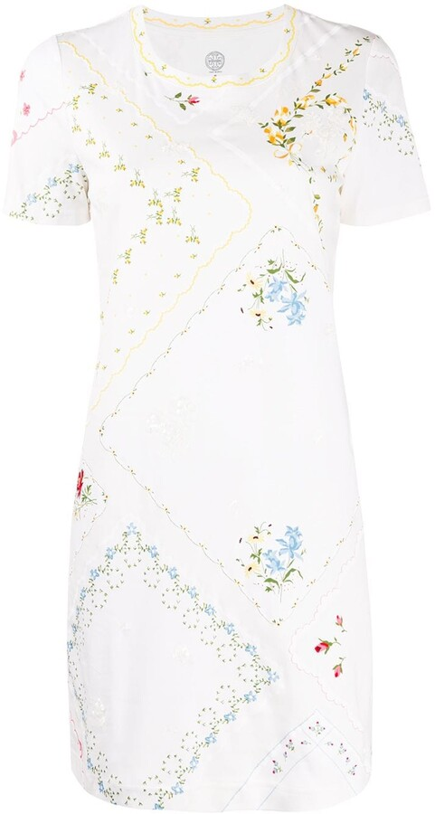 Tory Burch Afternoon Tea mini dress