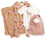 Milkbarn Medium Deer Suitcase Gift Set, Rose