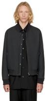 Wooyoungmi Reversible Black Bomber Jacket