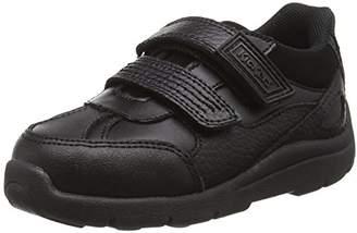 Kickers Boys' Moakie Reflex Infant Low-Top Sneakers, Black (Black), 6 Child UK 23 EU