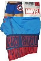 Marvel Comics Captain America Storm Shield Boxer Brief for men (X-Large)