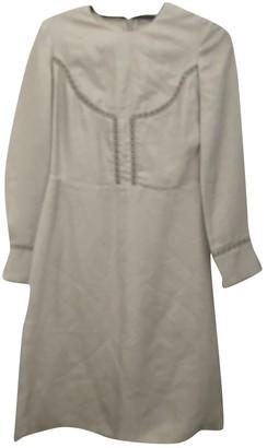 Vilshenko Silver Viscose Dresses