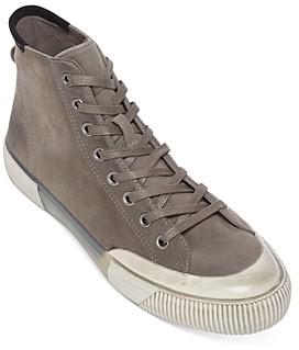 AllSaints Men's Dumont High-Top Suede Sneakers