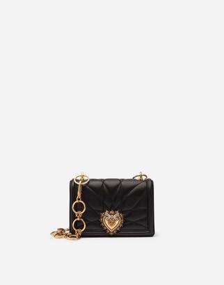Dolce & Gabbana Devotion Mini Bag In Matelasse Nappa Leather
