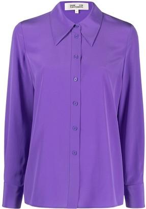 Diane von Furstenberg Darcy silk shirt