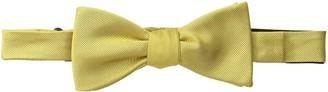 Bruno Piattelli Men's Solid Silk Bow Tie