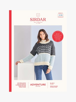 Sirdar Adventure Crew Neck Jumper Knitting Pattern