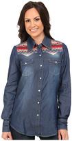 Roper 9751 5 Oz Denim L/S Shirt