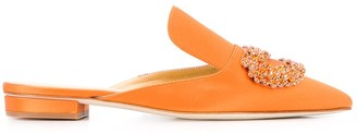 Giannico Daphne flat slippers