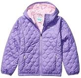 Columbia Kids Bella Plush Jacket (Little Kids/Big Kids) (Paisley Purple/Pink Clover) Girl's Coat