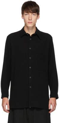 Yohji Yamamoto Black Unbalance Shirt
